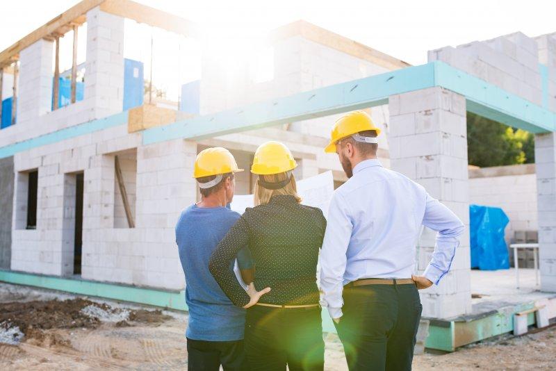 Sinkende Baugenehmigungen für Mehrfamilienhäuser