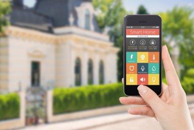 Integriertes Smart-Home-System im Fertighaus: